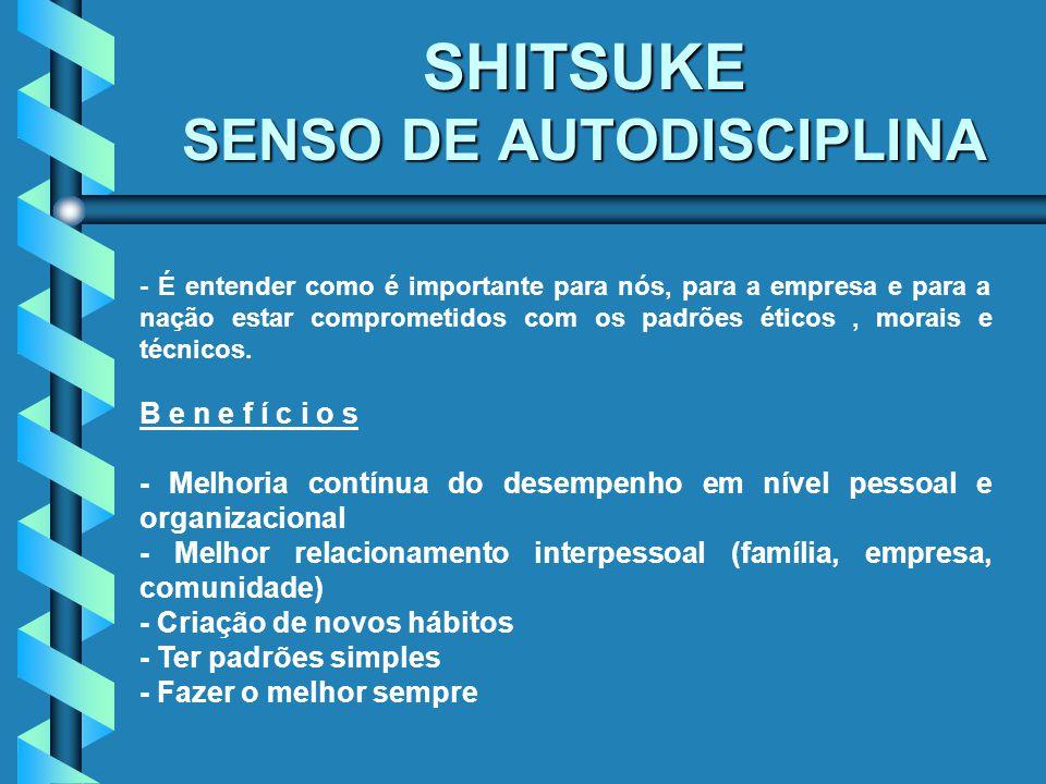 SHITSUKE SENSO DE AUTODISCIPLINA