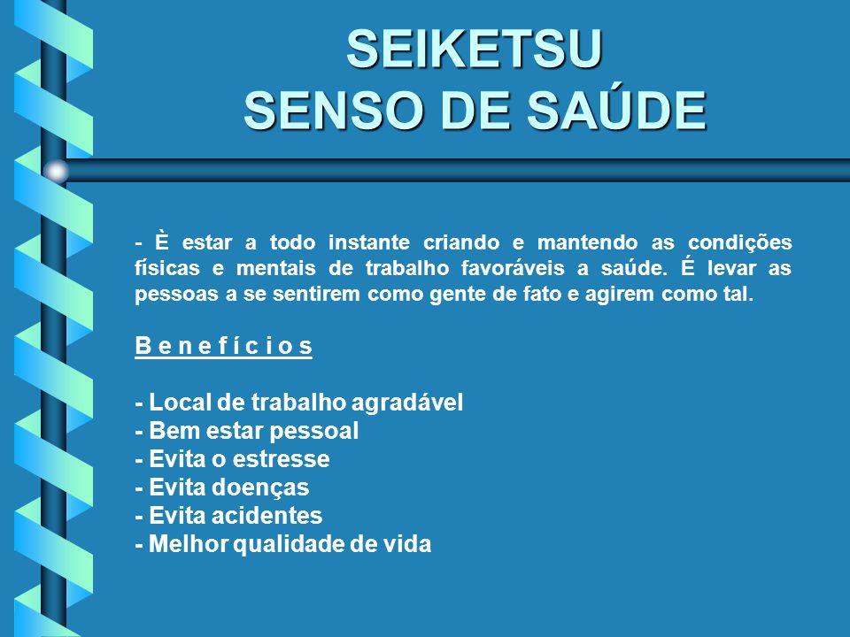 SEIKETSU SENSO DE SAÚDE