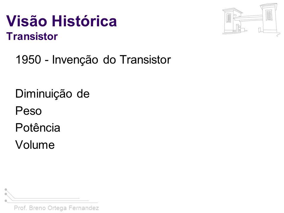 Visão Histórica Transistor