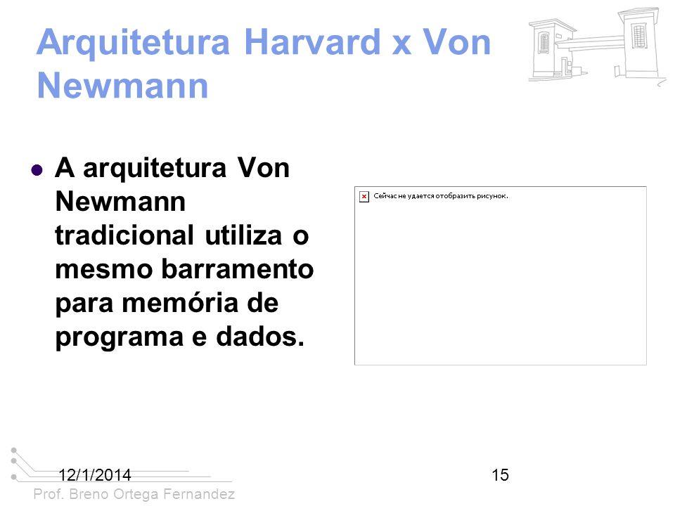 Arquitetura Harvard x Von Newmann