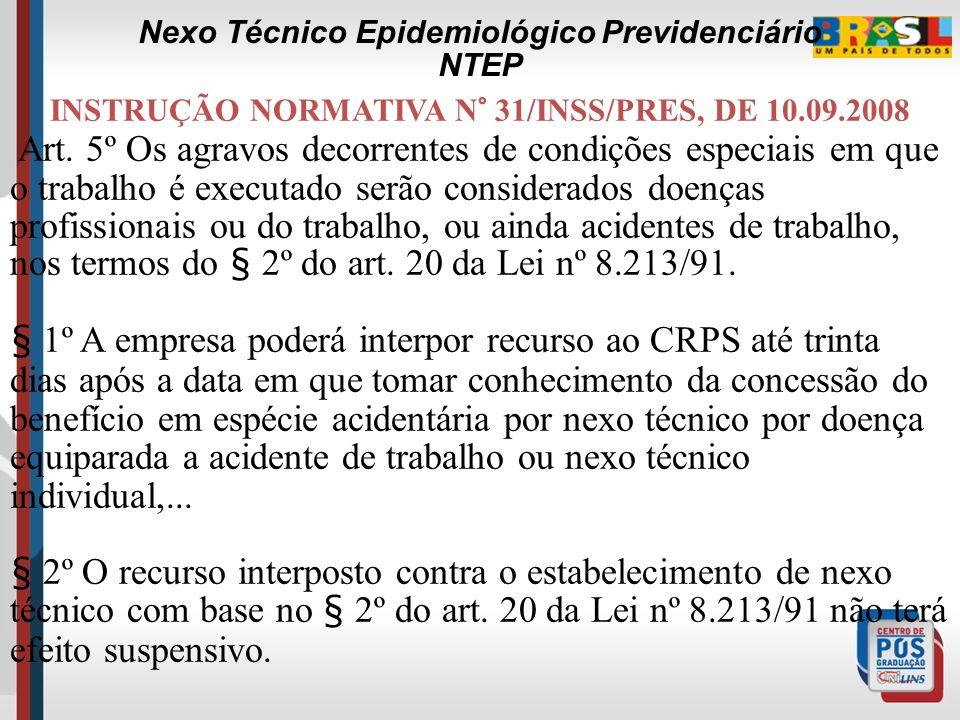 Nexo Técnico Epidemiológico Previdenciário