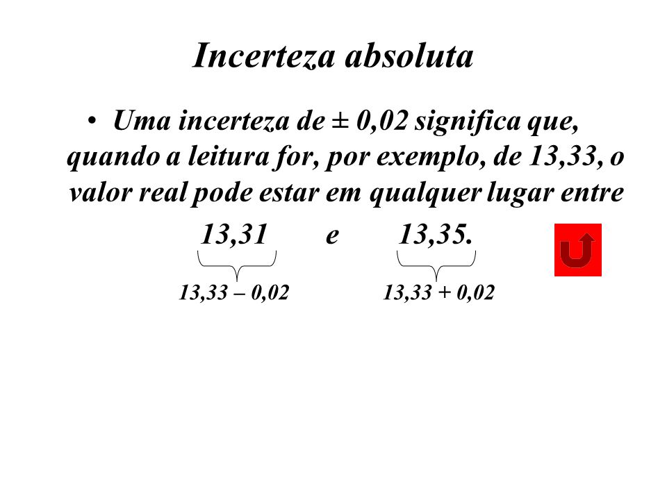 Incerteza absoluta
