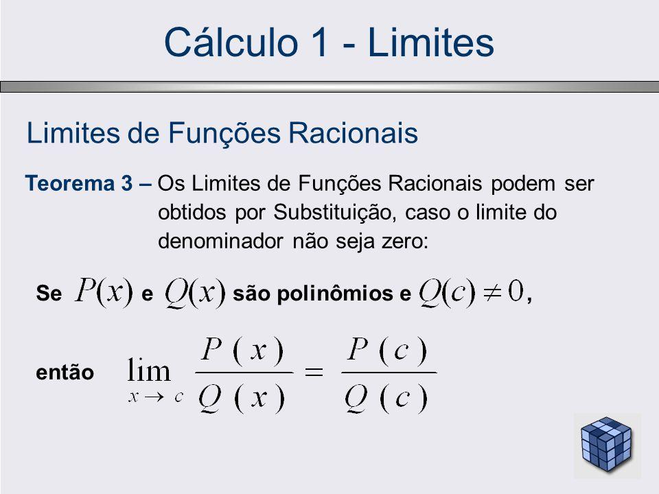 Limites de Funções Racionais