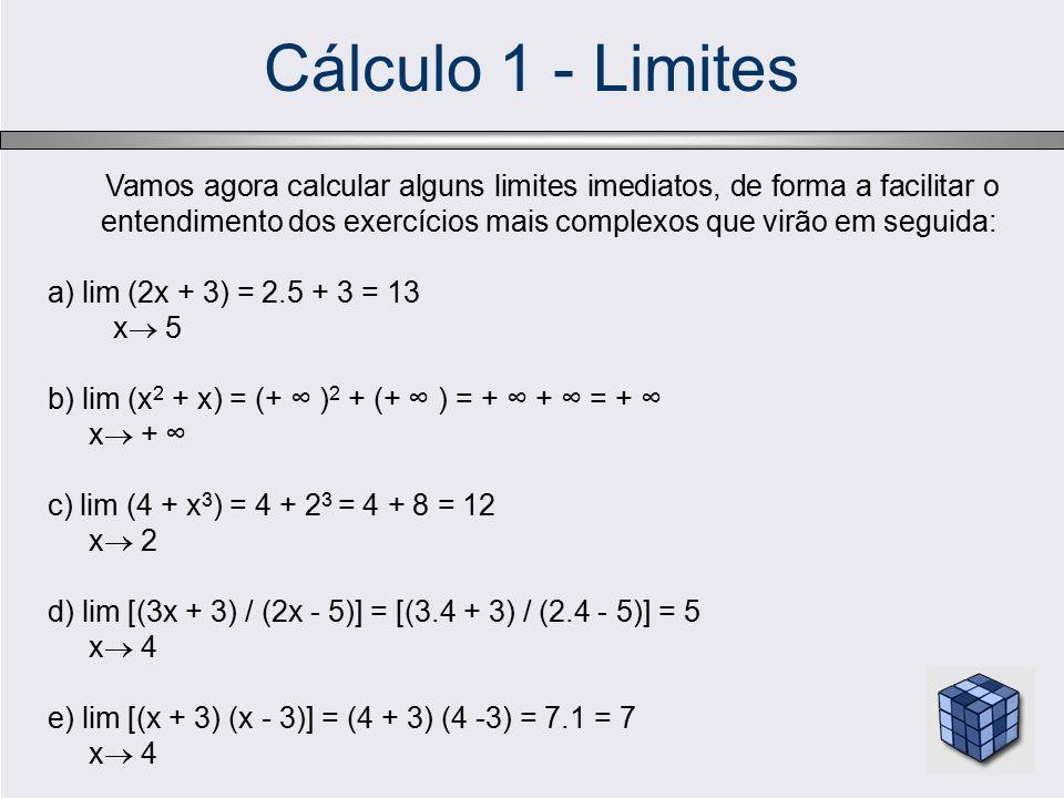 Cálculo 1 - Limites