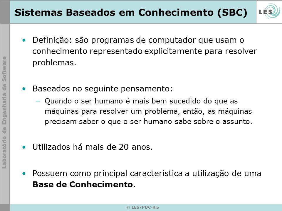 Sistemas Baseados em Conhecimento (SBC)