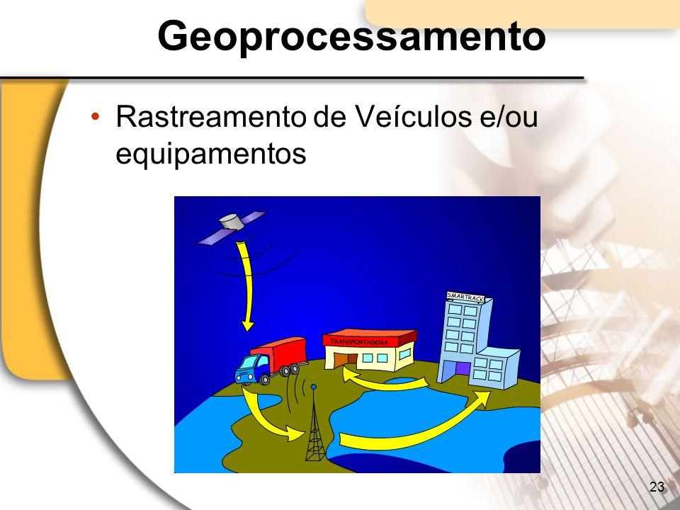 Geoprocessamento Rastreamento de Veículos e/ou equipamentos