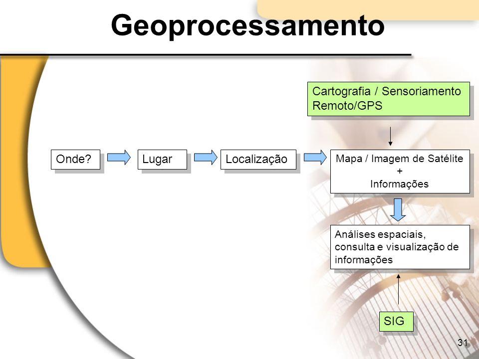 Mapa / Imagem de Satélite