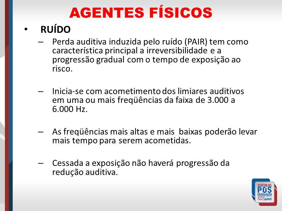AGENTES FÍSICOS RUÍDO.
