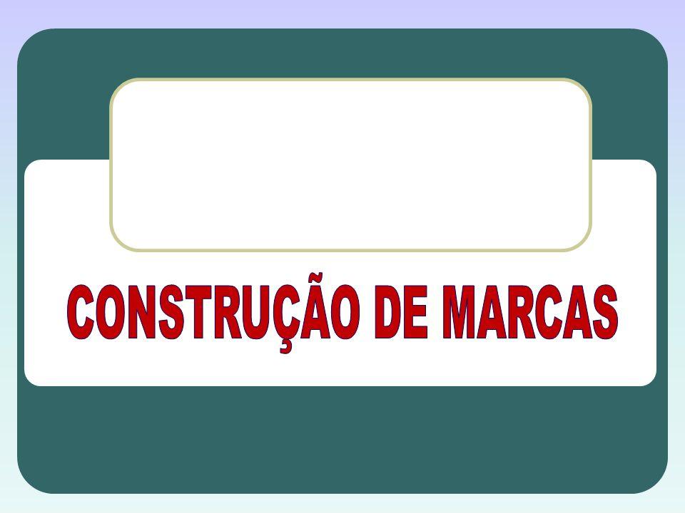 CONSTRUÇÃO DE MARCAS
