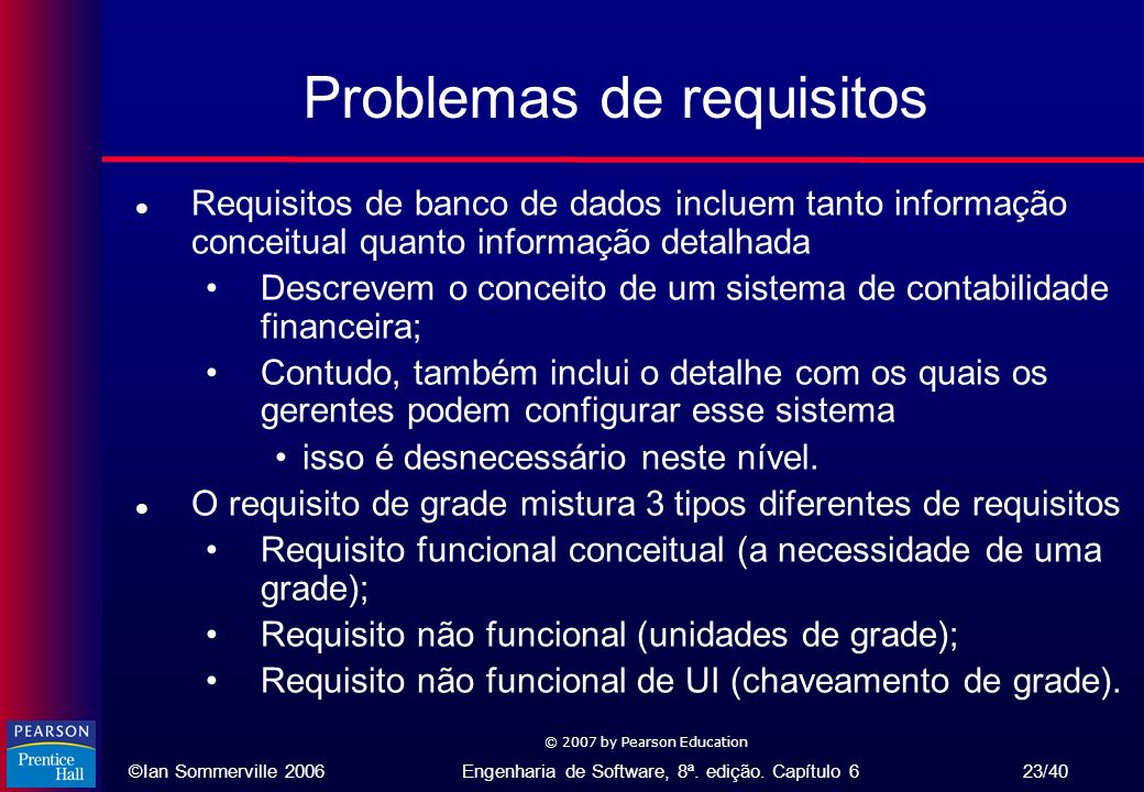 Problemas de requisitos