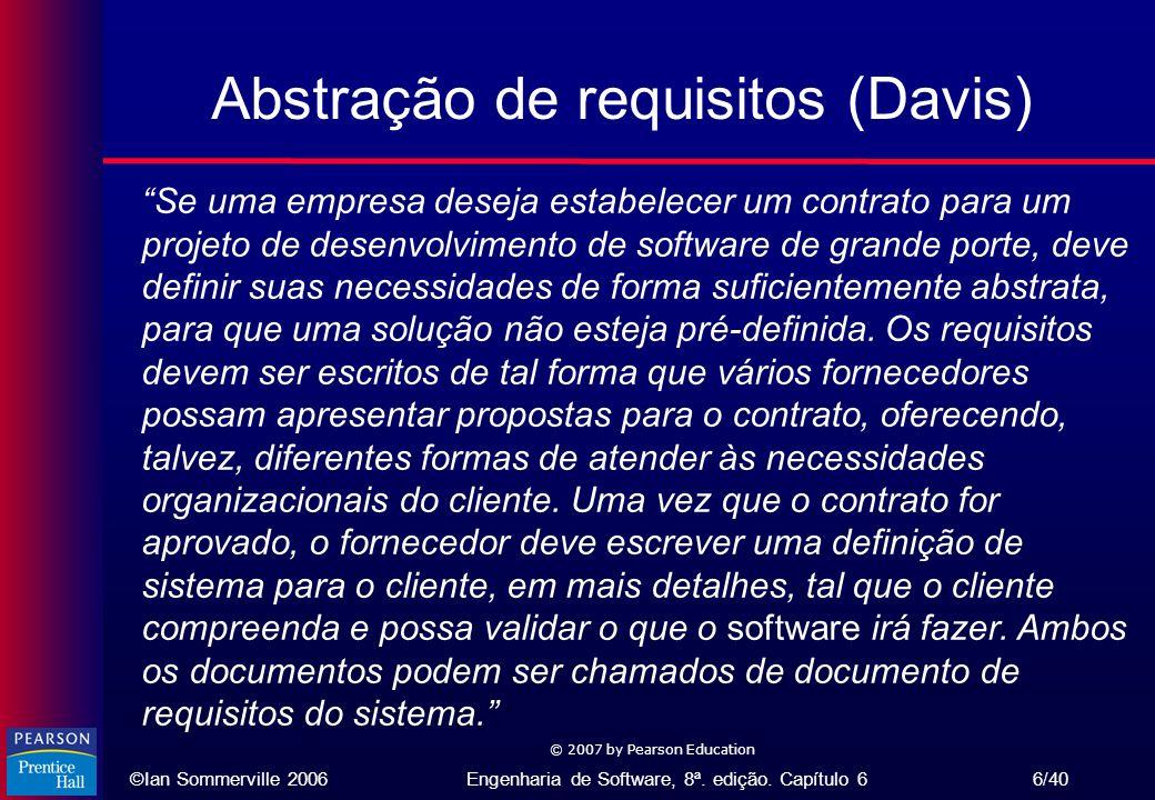 Abstração de requisitos (Davis)