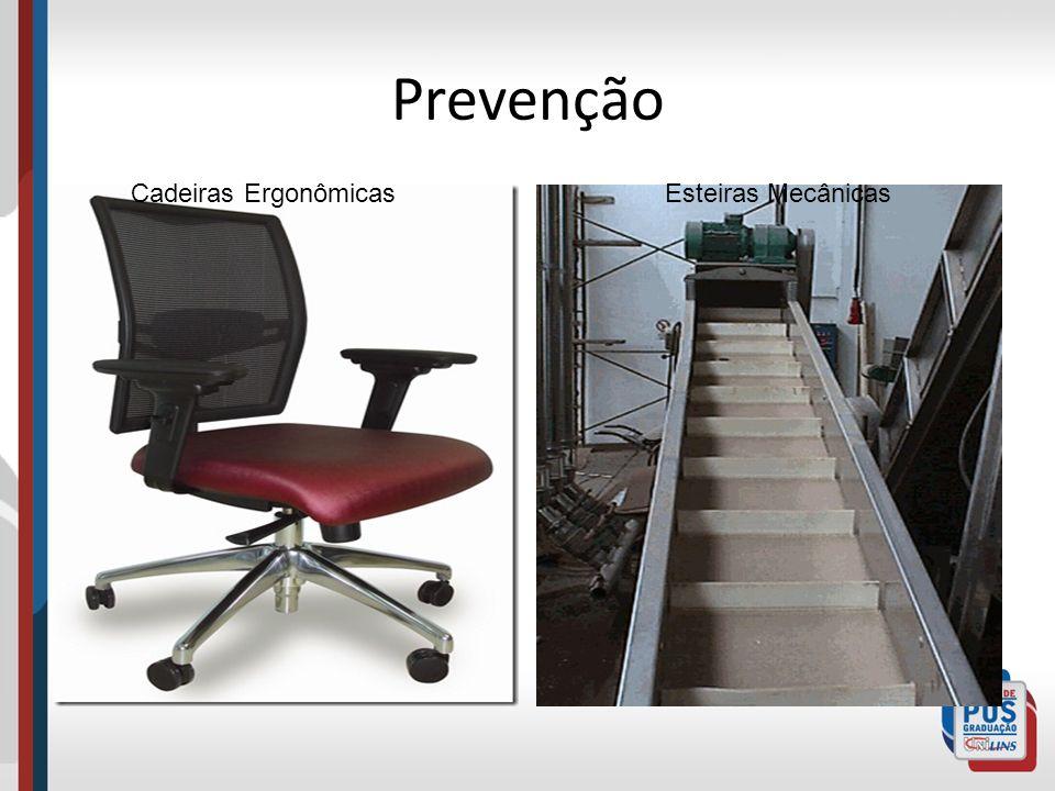 Prevenção Cadeiras Ergonômicas Esteiras Mecânicas
