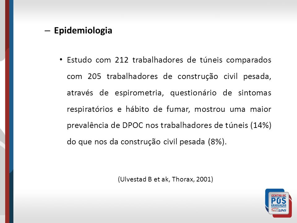 (Ulvestad B et ak, Thorax, 2001)