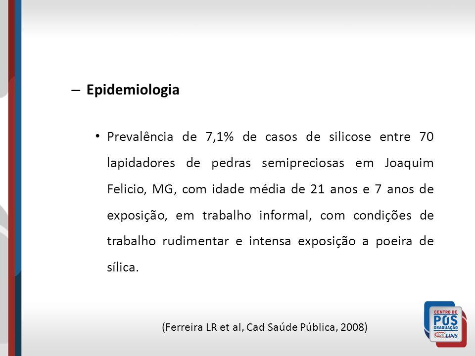 (Ferreira LR et al, Cad Saúde Pública, 2008)
