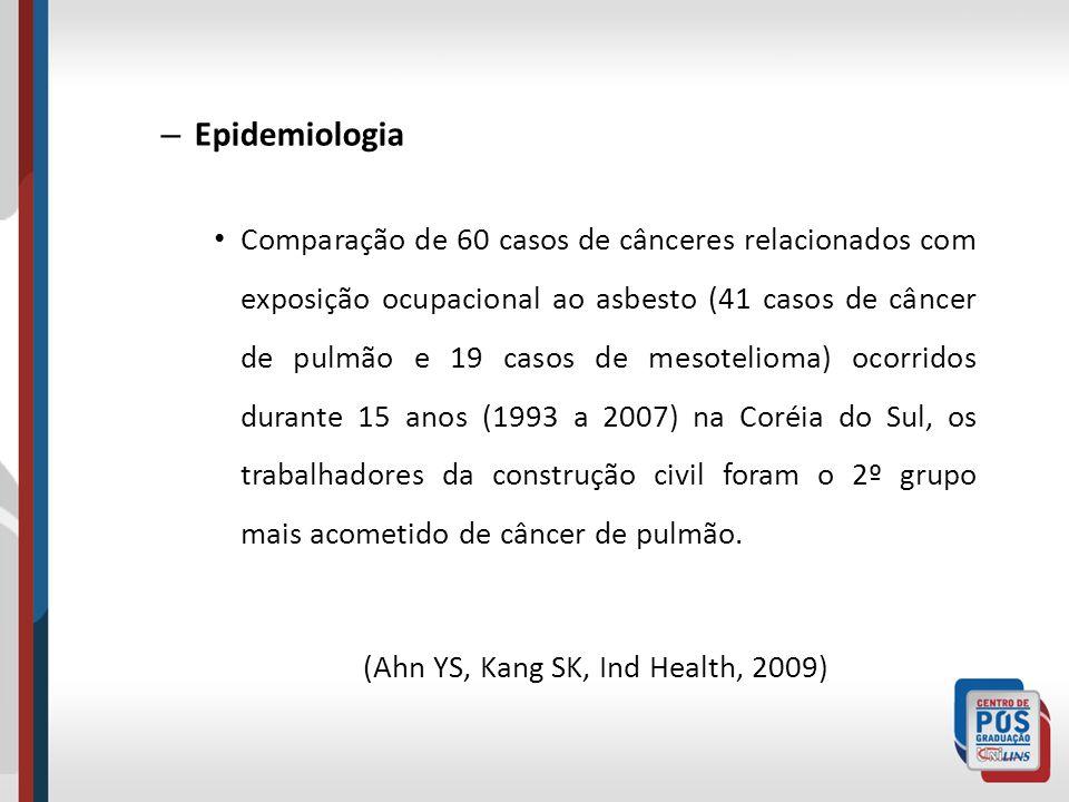 (Ahn YS, Kang SK, Ind Health, 2009)