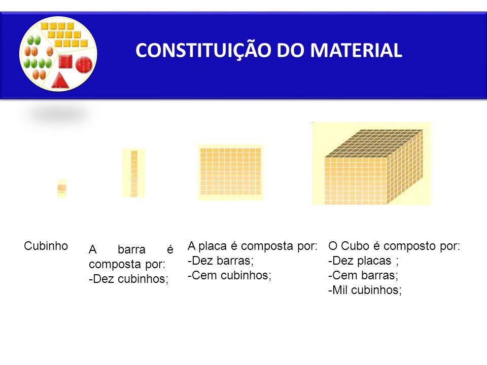 CONSTITUIÇÃO DO MATERIAL