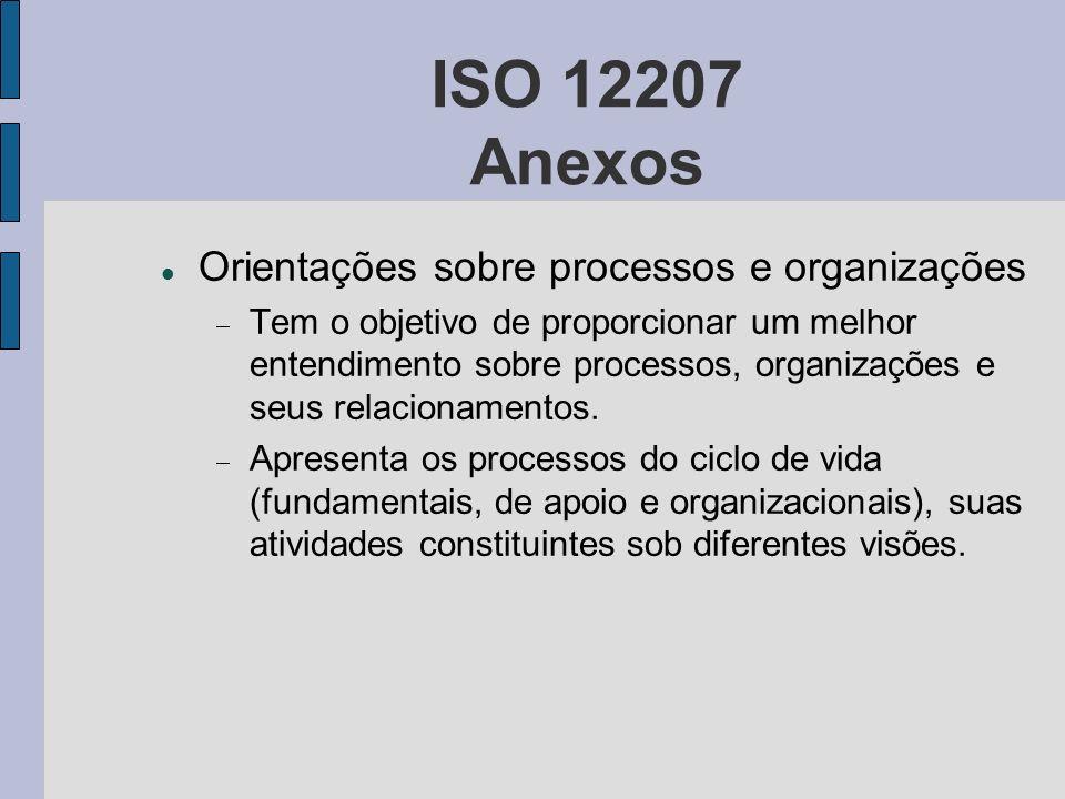 ISO 12207 Anexos Orientações sobre processos e organizações