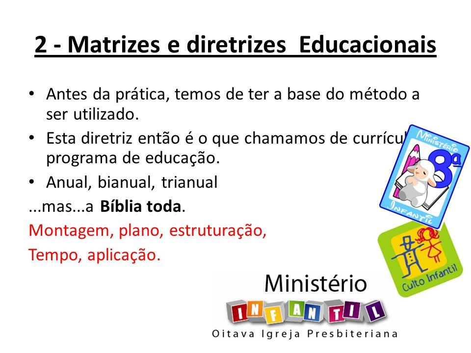2 - Matrizes e diretrizes Educacionais
