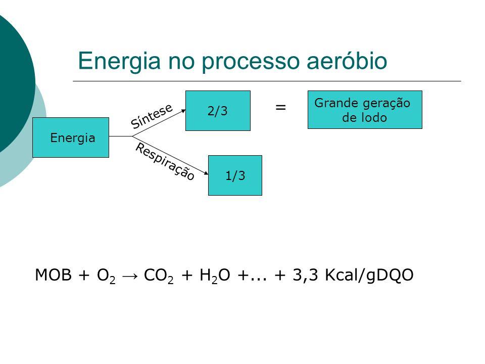 Energia no processo aeróbio