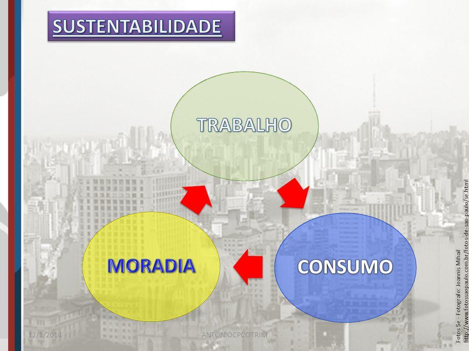 TRABALHO CONSUMO MORADIA