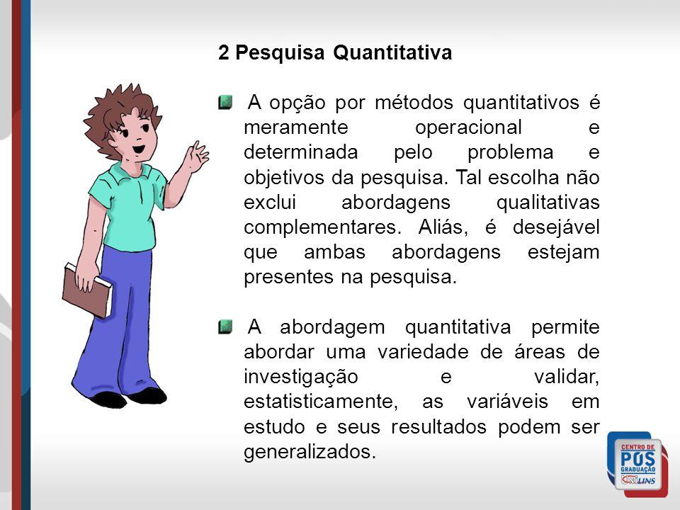2 Pesquisa Quantitativa