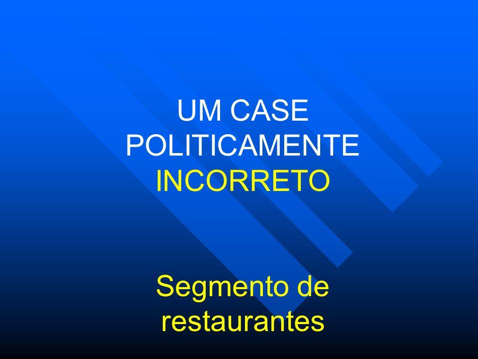 UM CASE POLITICAMENTE INCORRETO