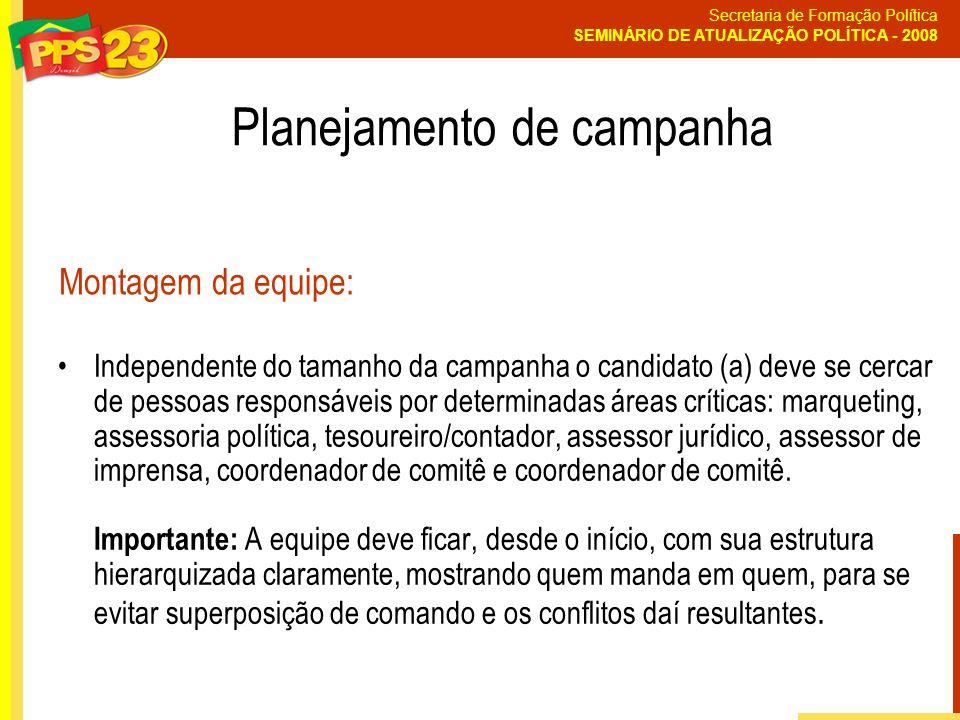 Planejamento de campanha
