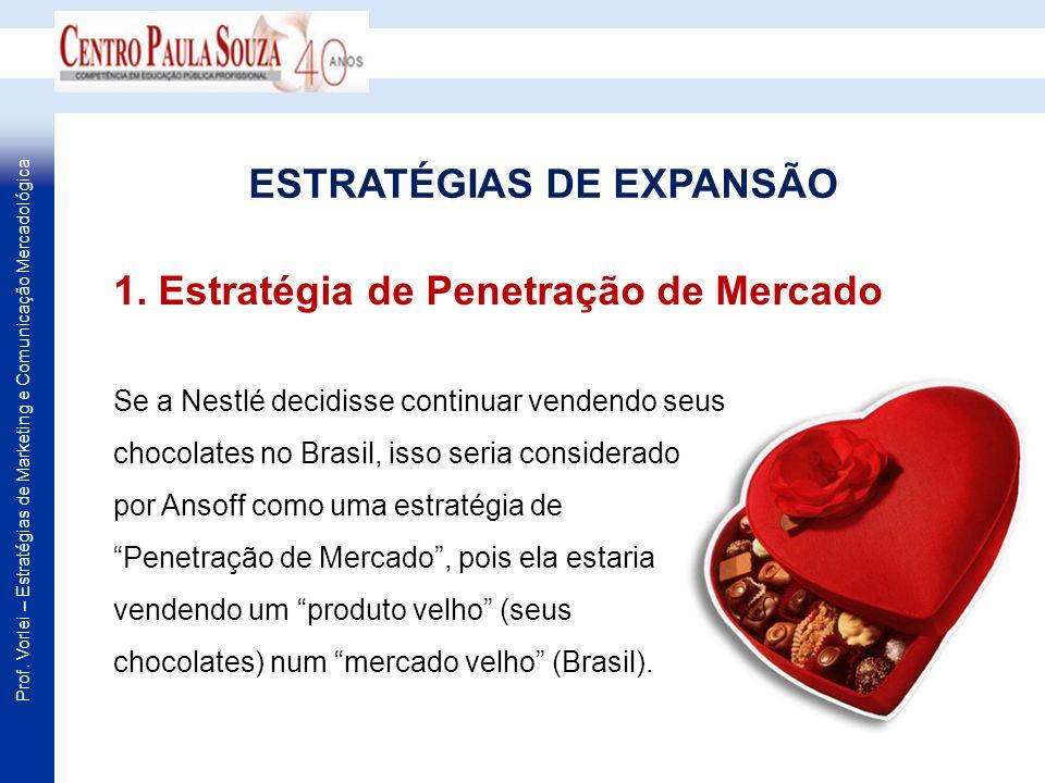 ESTRATÉGIAS DE EXPANSÃO