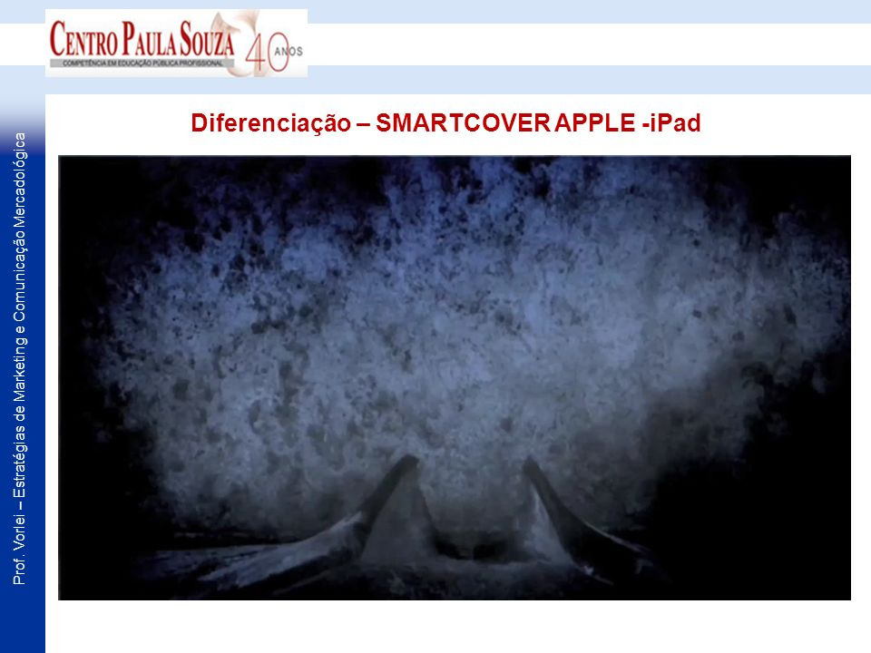 Diferenciação – SMARTCOVER APPLE -iPad
