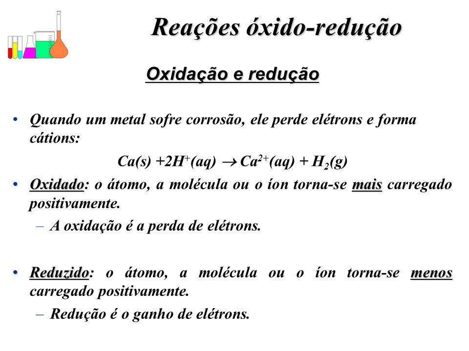 Reações óxido-redução