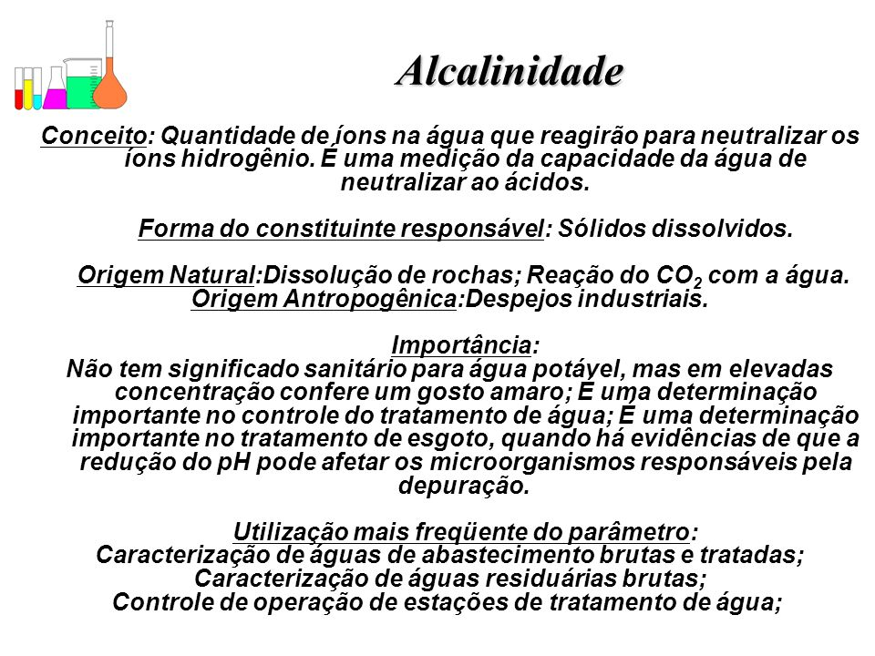 Alcalinidade