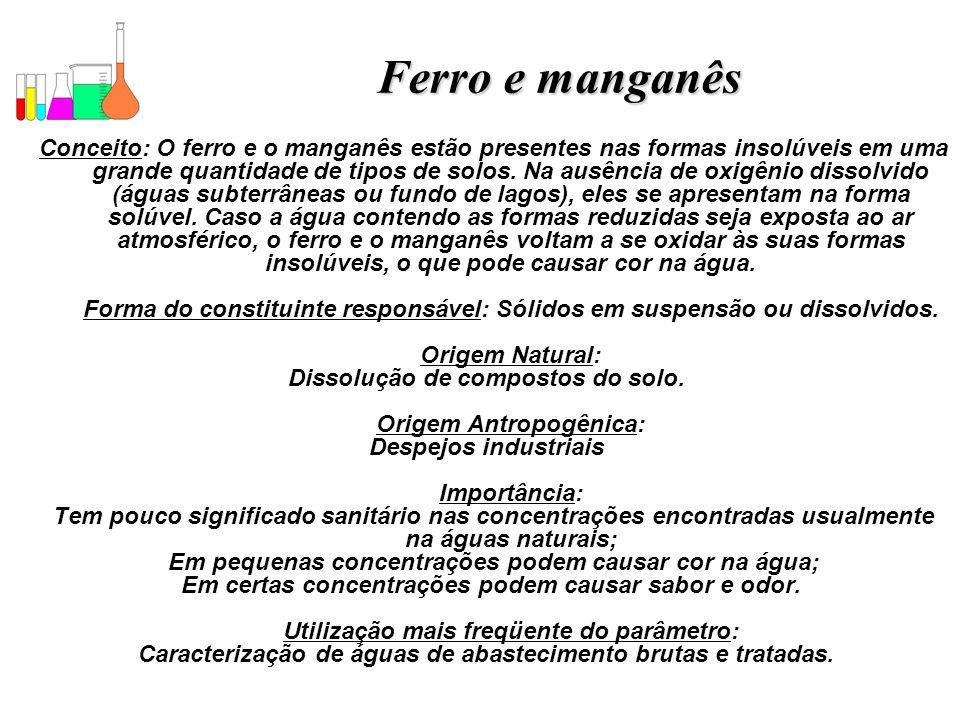 Ferro e manganês