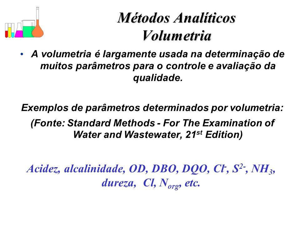 Métodos Analíticos Volumetria