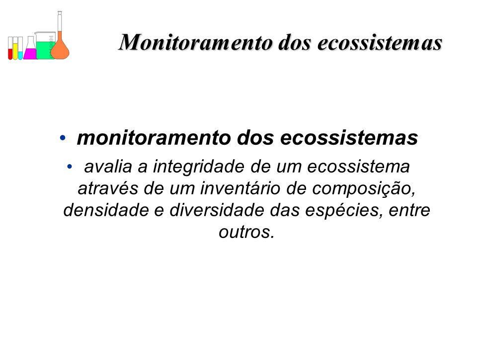 Monitoramento dos ecossistemas