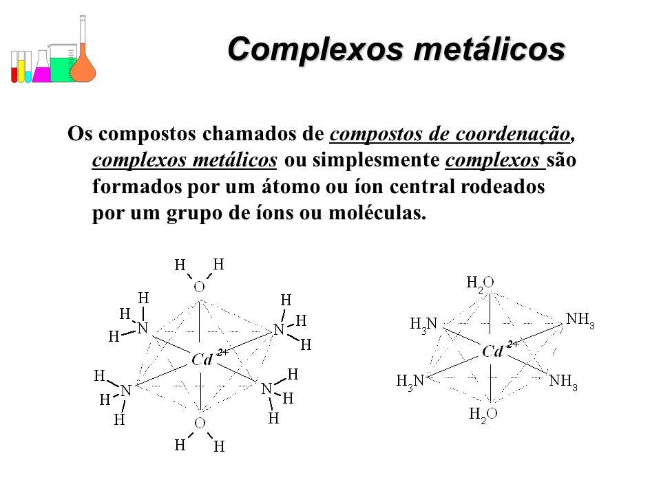 Complexos metálicos