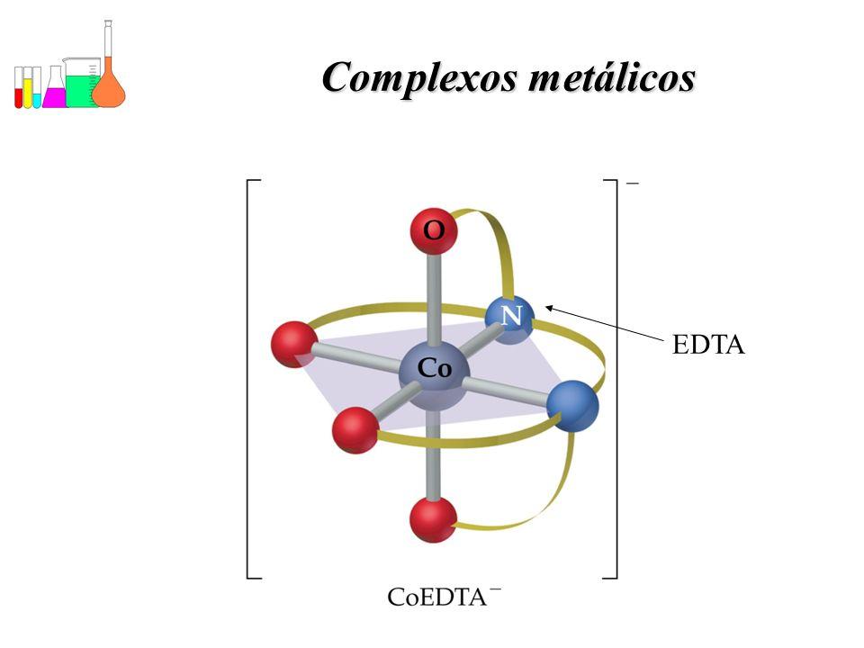 Complexos metálicos EDTA