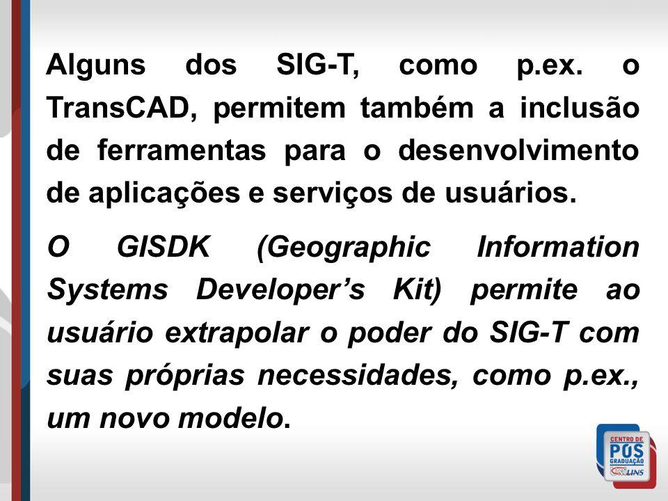 Alguns dos SIG-T, como p. ex