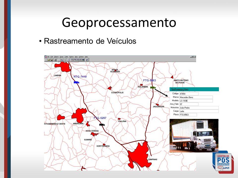 Geoprocessamento Rastreamento de Veículos Informações HTG-7419