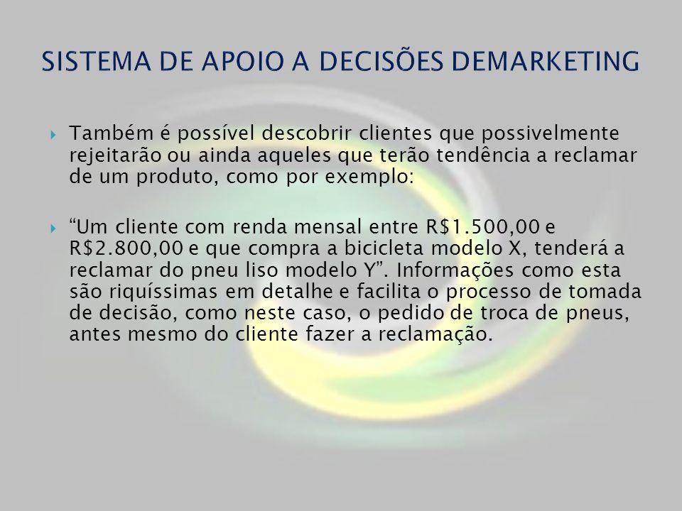 SISTEMA DE APOIO A DECISÕES DEMARKETING