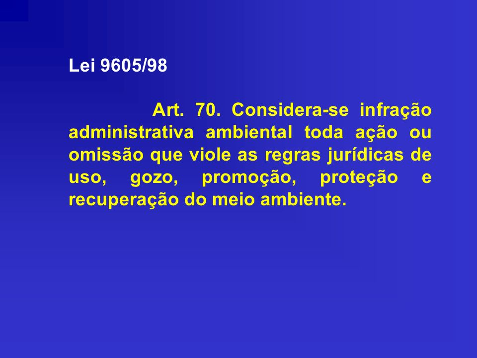 Lei 9605/98