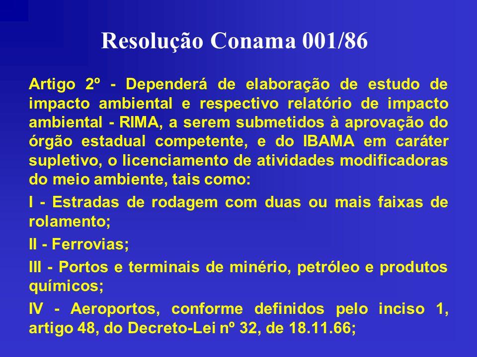 Resolução Conama 001/86