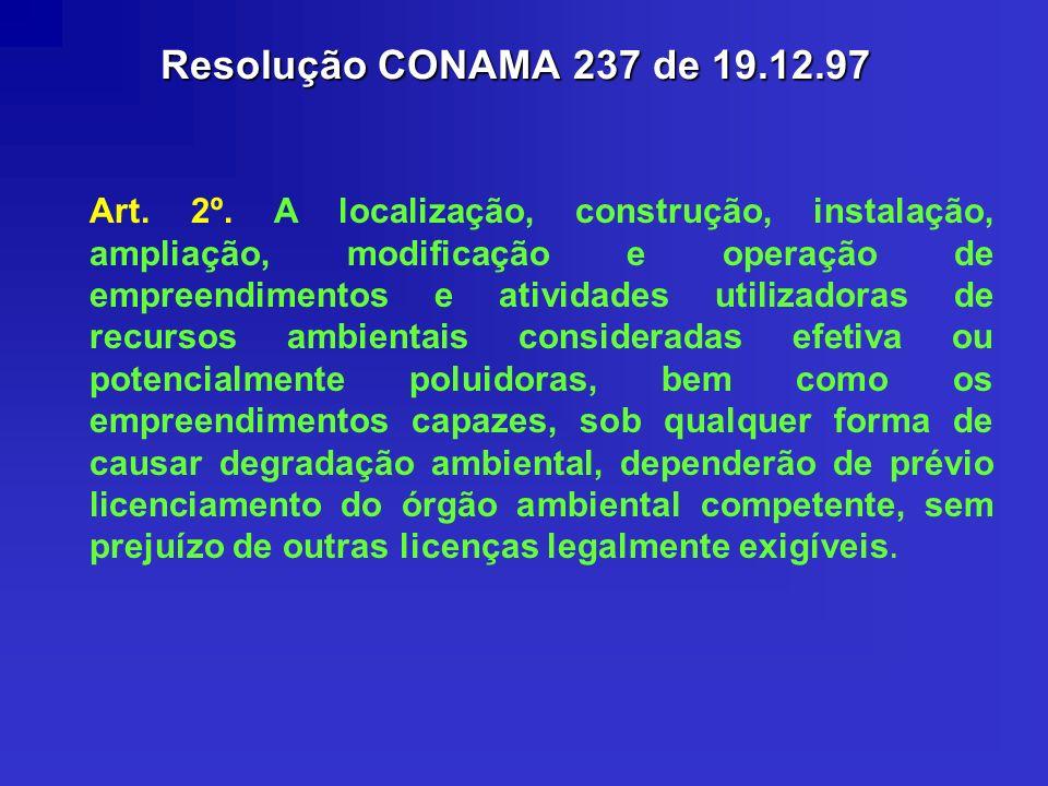 Resolução CONAMA 237 de 19.12.97