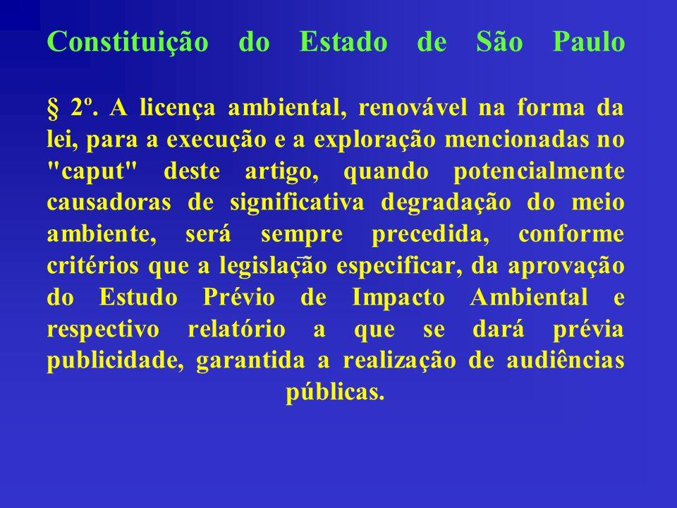 Constituição do Estado de São Paulo § 2º