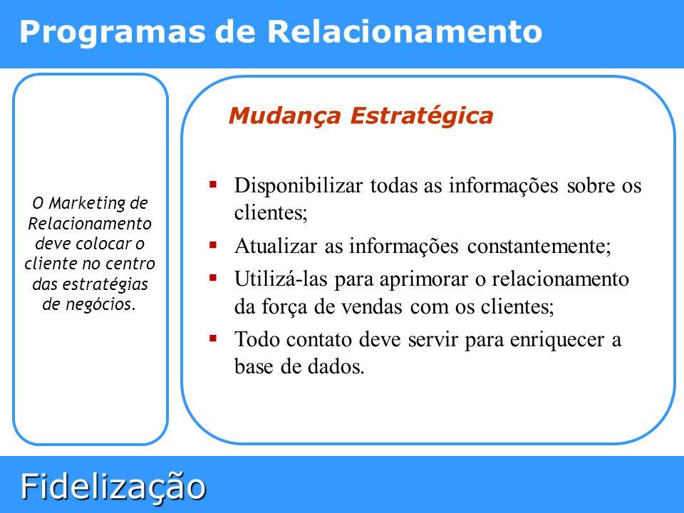 Disponibilizar todas as informações sobre os clientes;