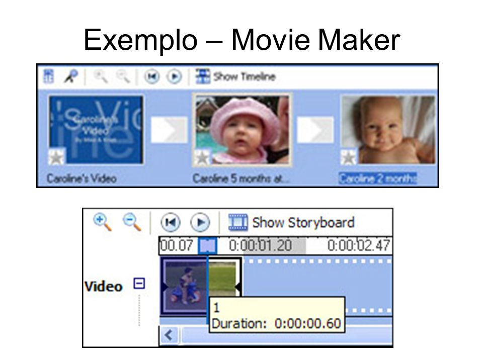 Exemplo – Movie Maker