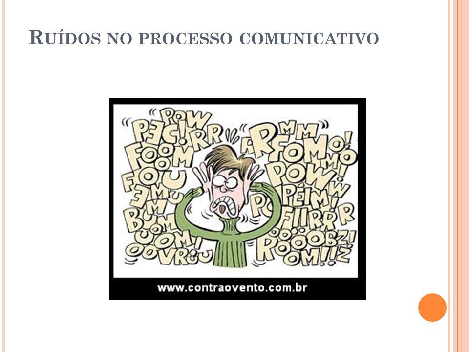 Ruídos no processo comunicativo