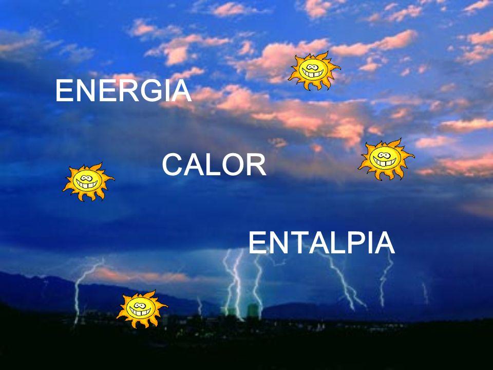 ENERGIA CALOR ENTALPIA