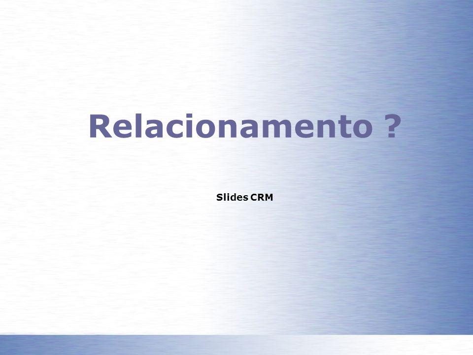 Relacionamento Slides CRM