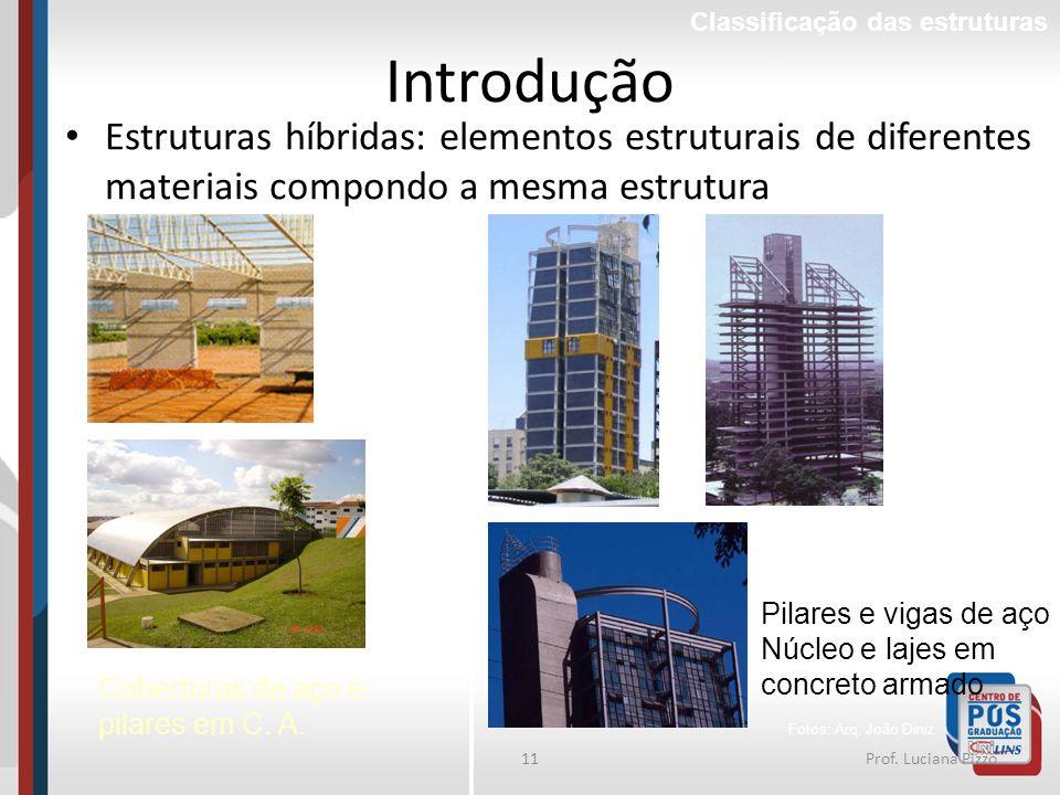 Classificação das estruturas
