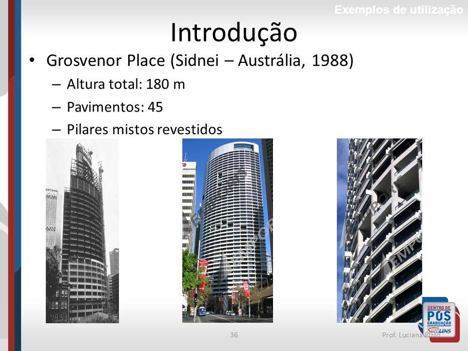 Introdução Grosvenor Place (Sidnei – Austrália, 1988)